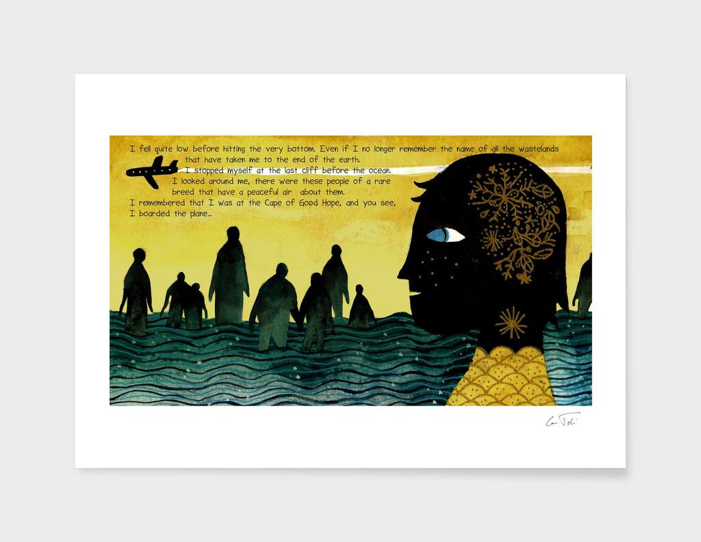 """""""Cape Town"""" Text E.Tchijakoff Illustration by Tarmasz"""