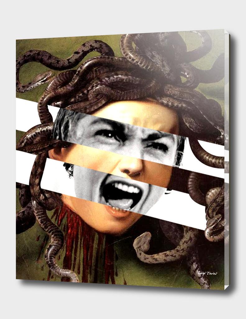 Caravaggio's Medusa & Vivien Leigh in Psycho