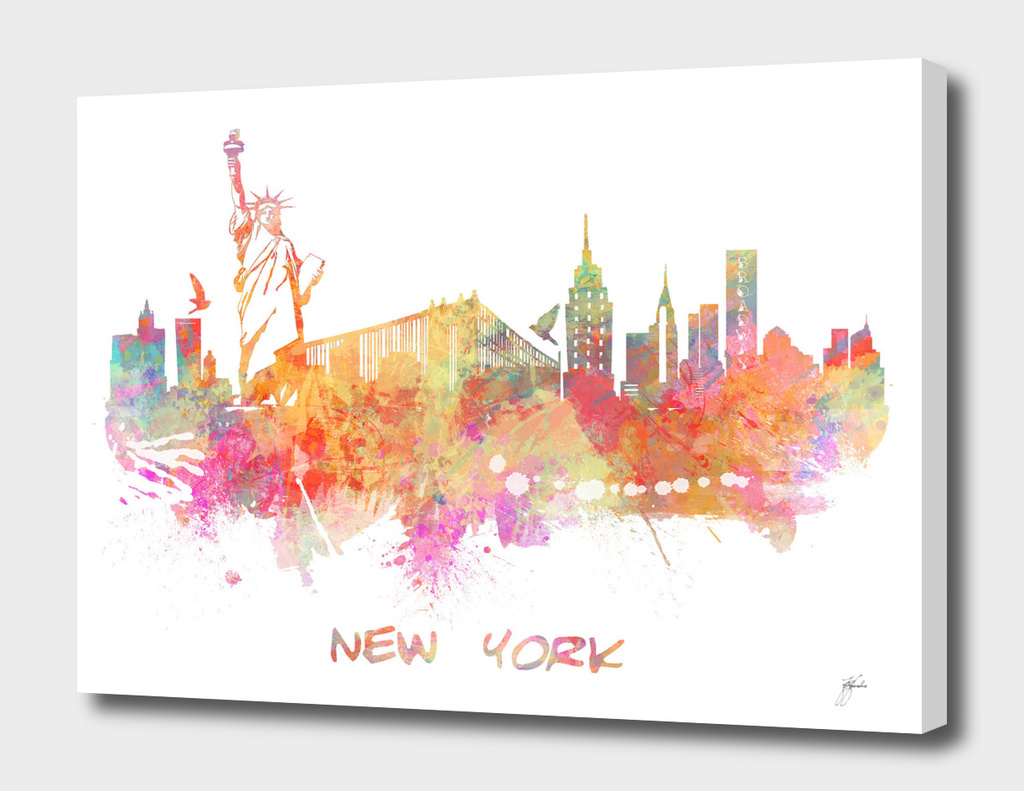 New York skyline 3