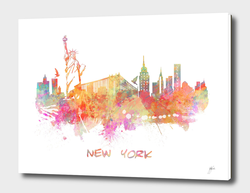 New York skyline 3