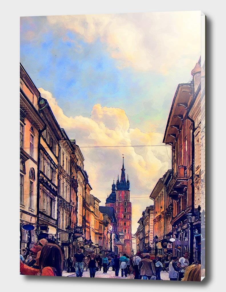 Cracow Florianska street