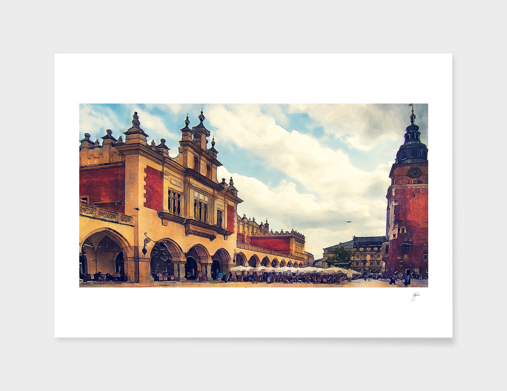 Cracow Main Square Old Town 2