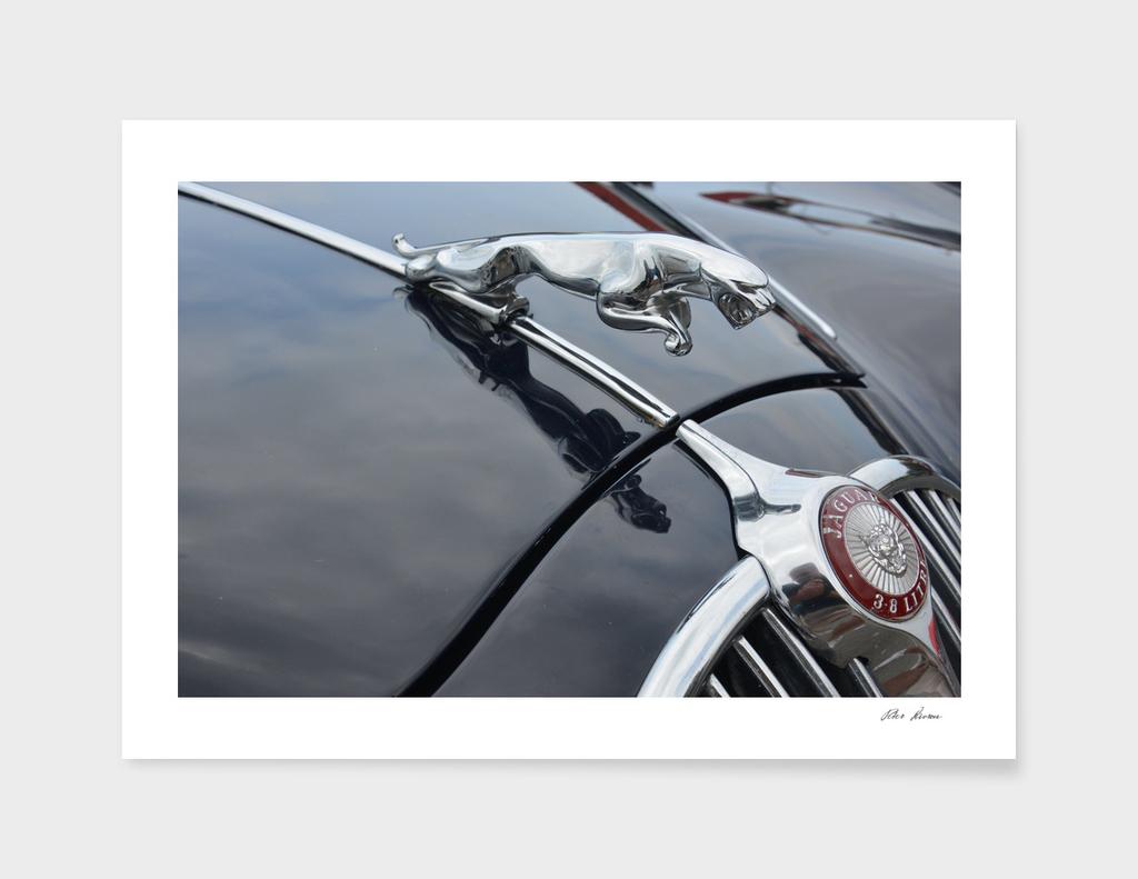 British Jaguar Sports Saloon