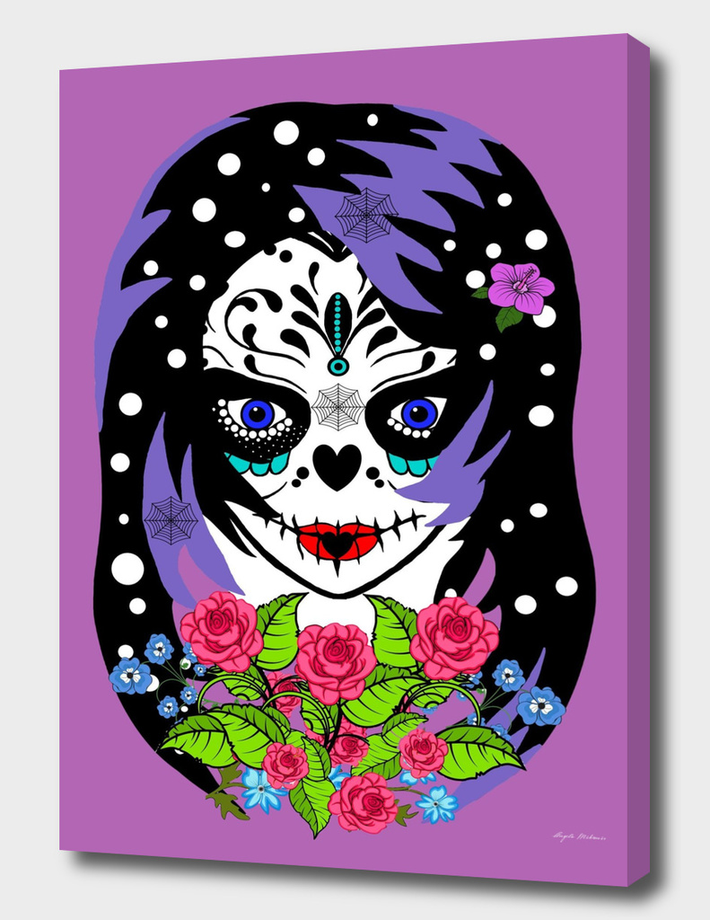 Emotional sugar skull
