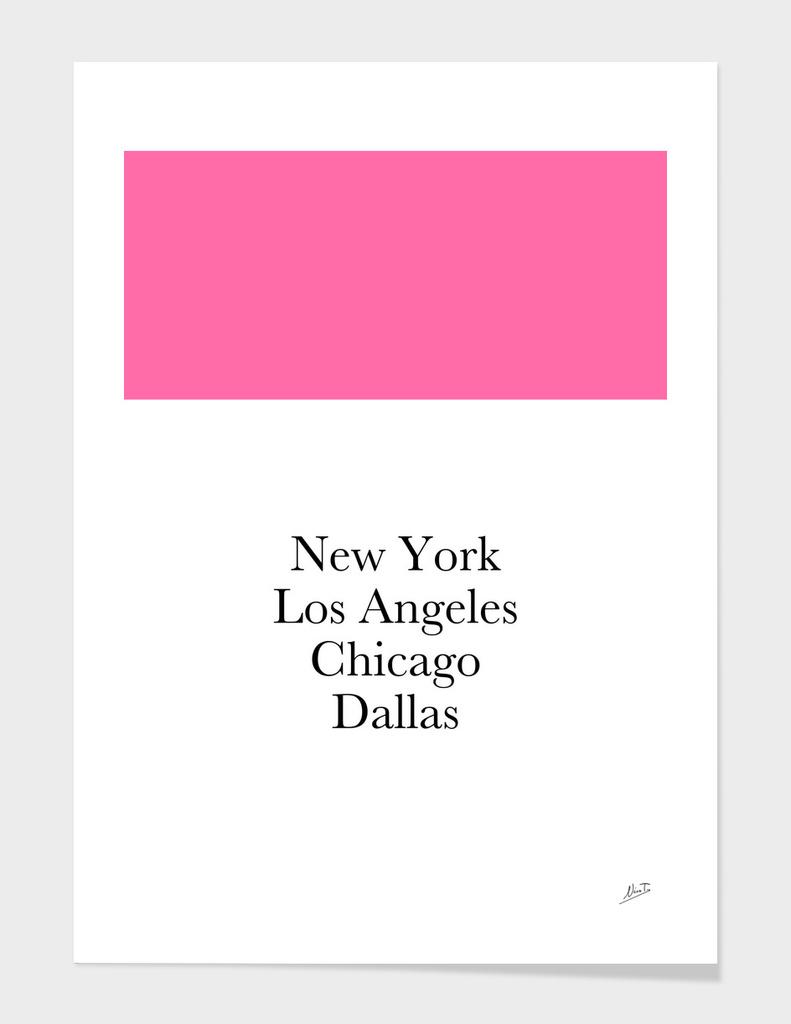 USA Pink