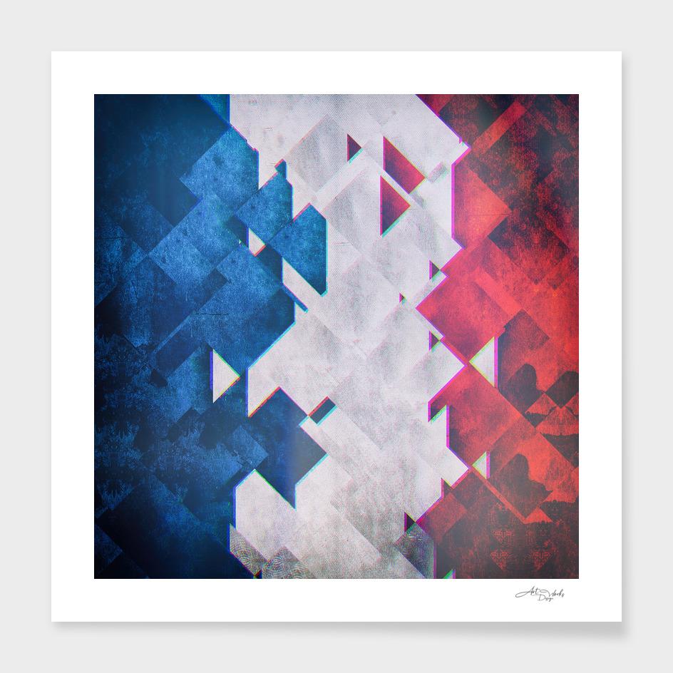 Flag II - France'Glitch  / LE