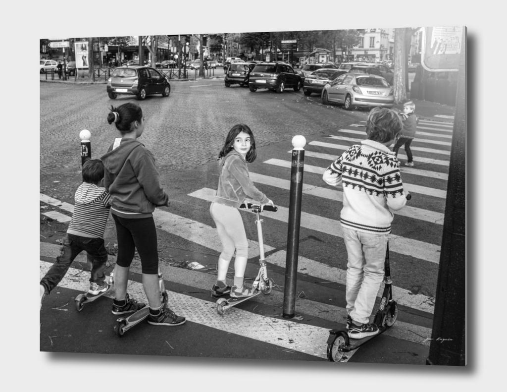 Parisian kids