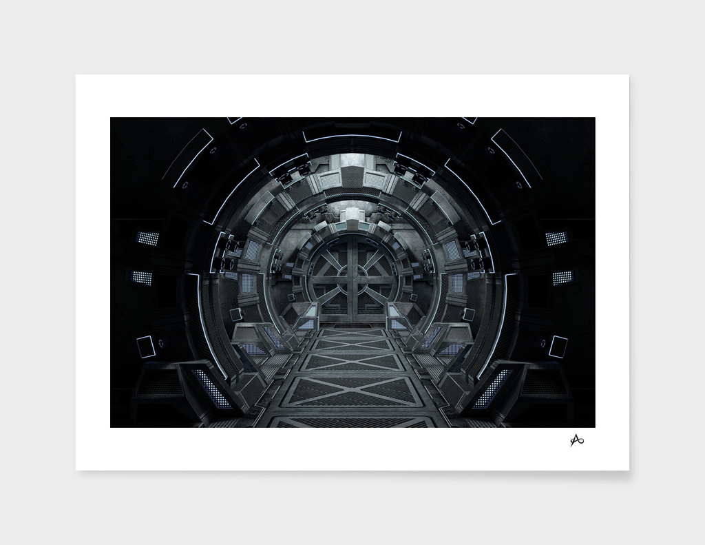 Space Craft - Spaceship Interior