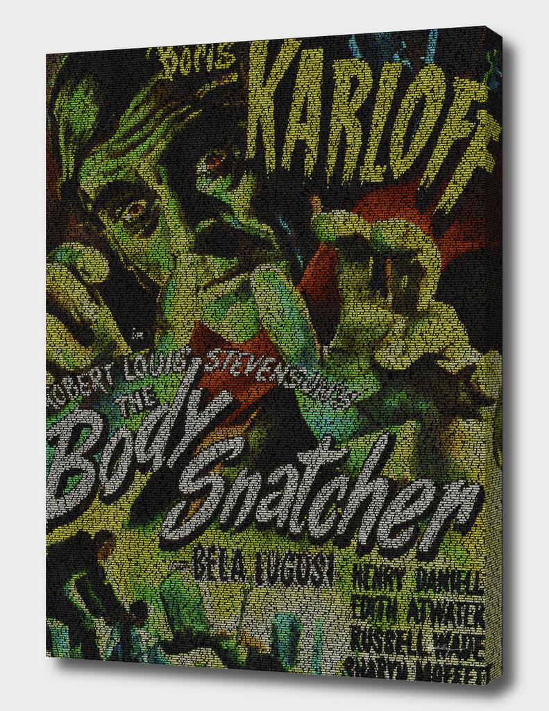 The Body Snatcher Script Print
