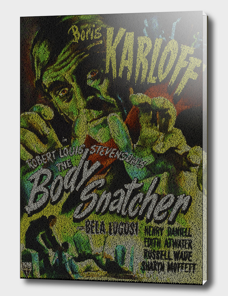 The Body Snatcher Script Print