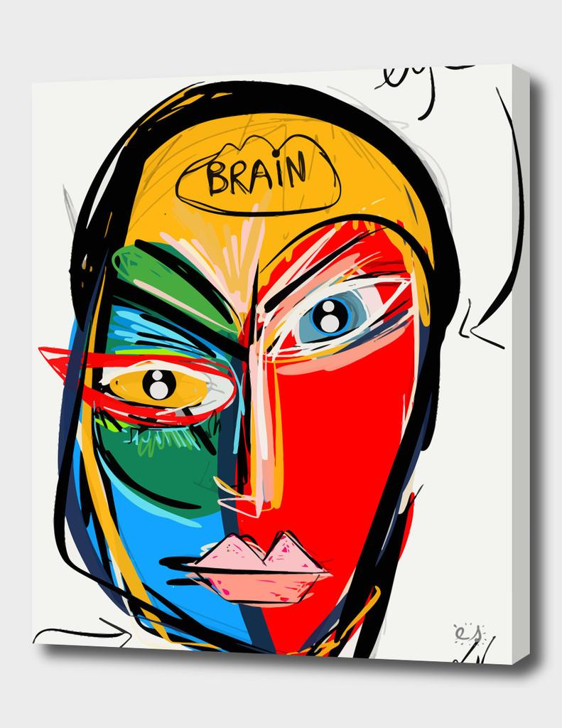 Eye-brain-mouth
