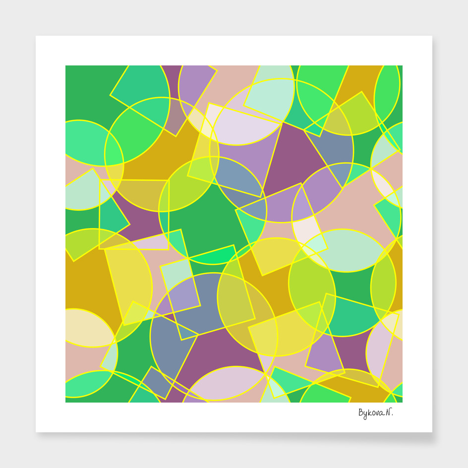 Abstract geometric pattern