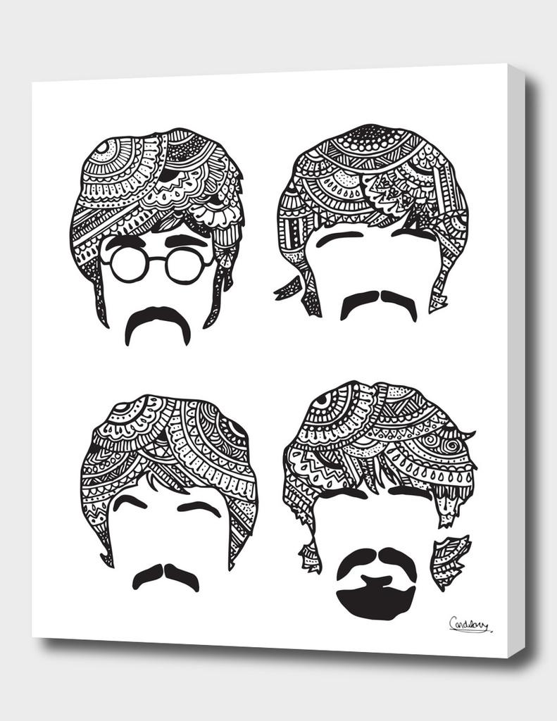 Beatles Mehendi