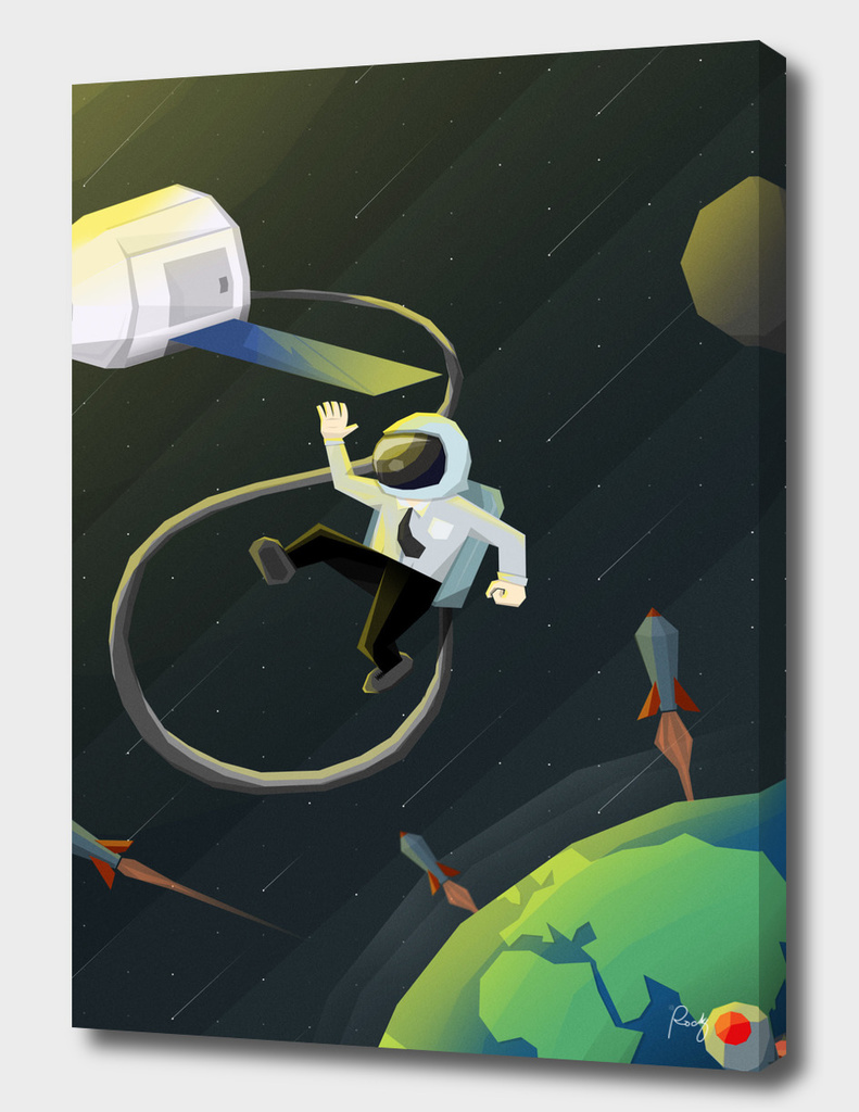 Startup Launch Poster