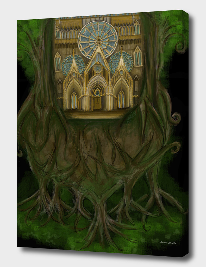 Cathedrial in Trees