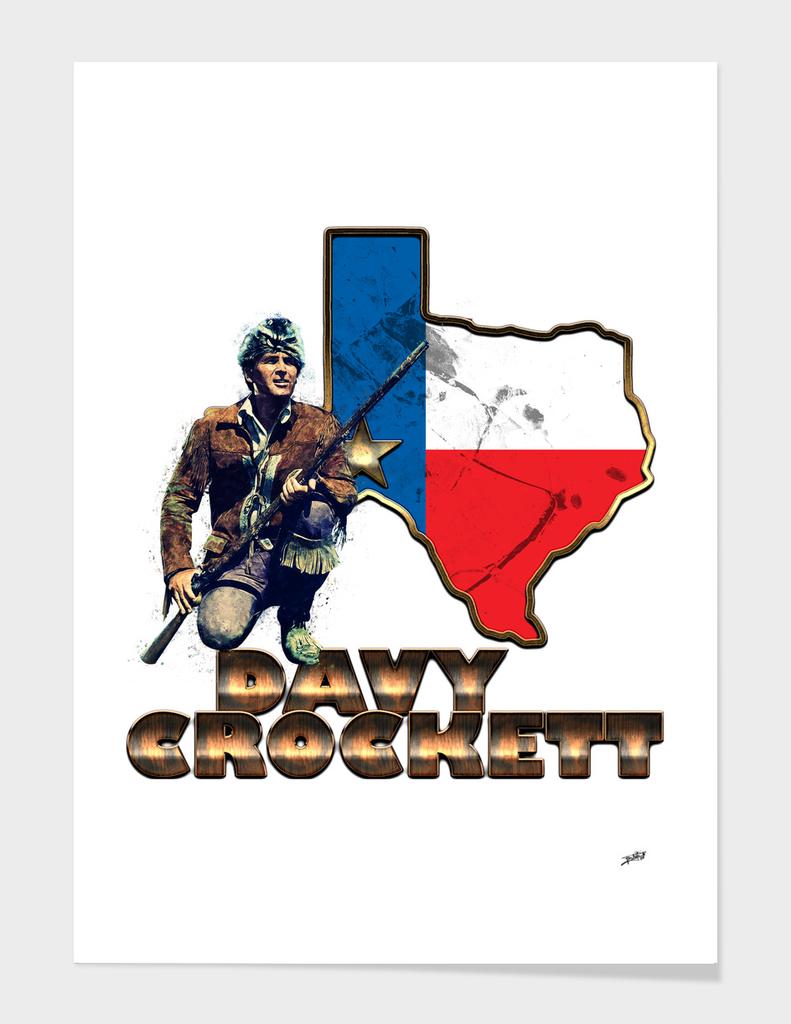 Davy Crockett an American Folk Hero