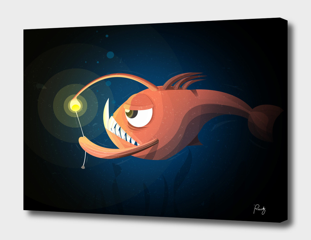 Good Night by Angler Fish