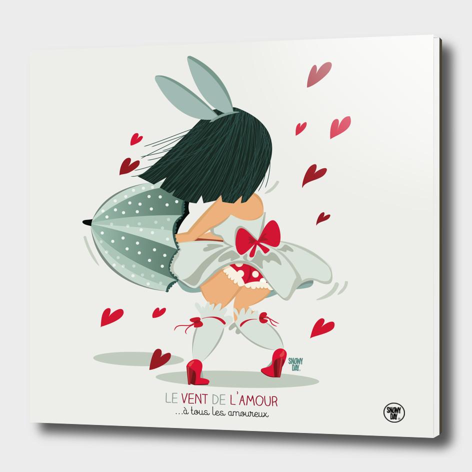 Le vent de l'amour