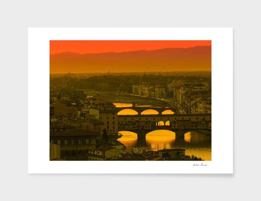 RDP-436 Bridges over Arno River
