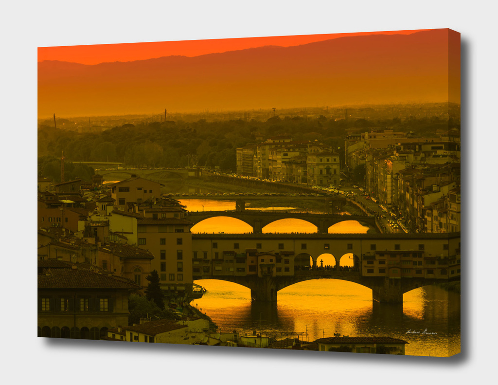 RDP-436 Bridges over Arno River