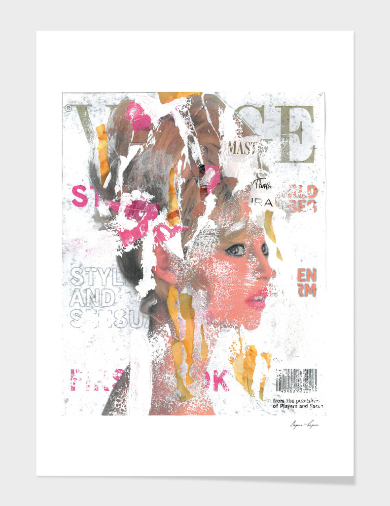 Brigitte Bardot Pop Art Print