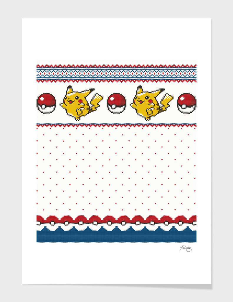 Pokemon Christmas Sweaters