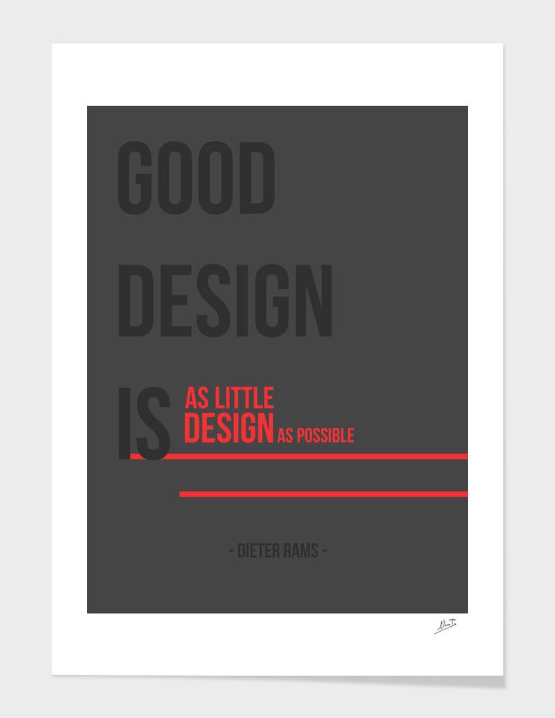 Rams Good Design Principle