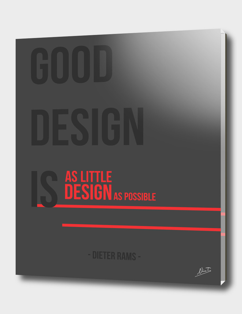Rams Good Design Principle