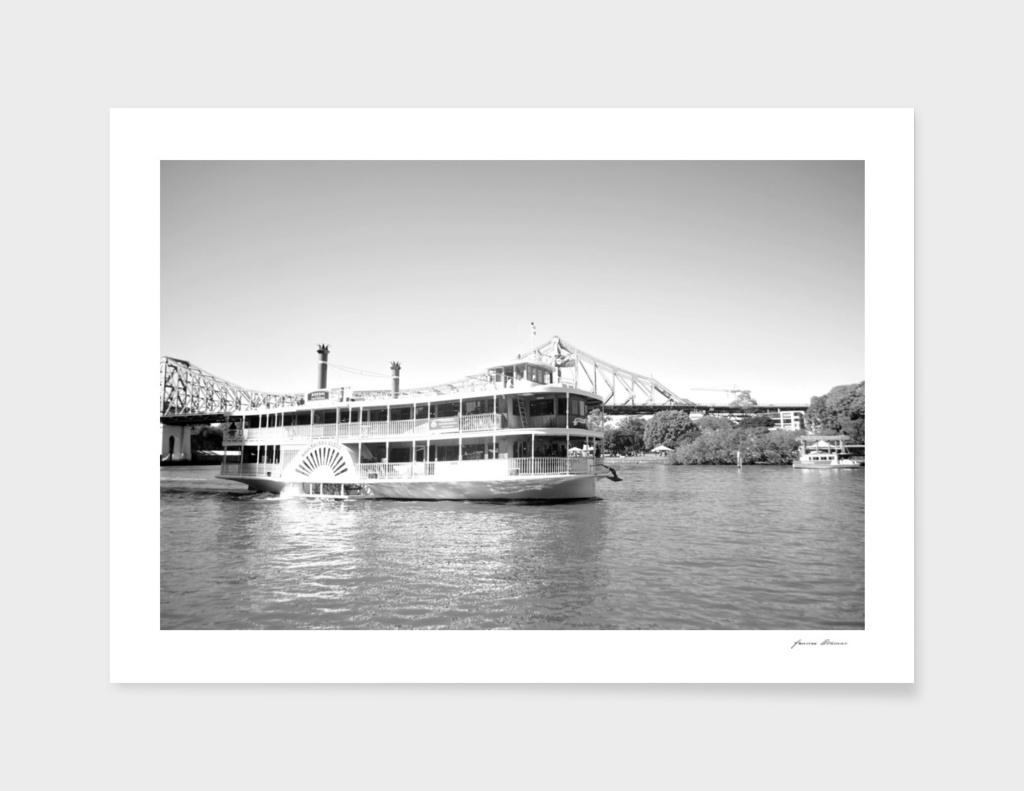 Kukaburra Wheel Boat