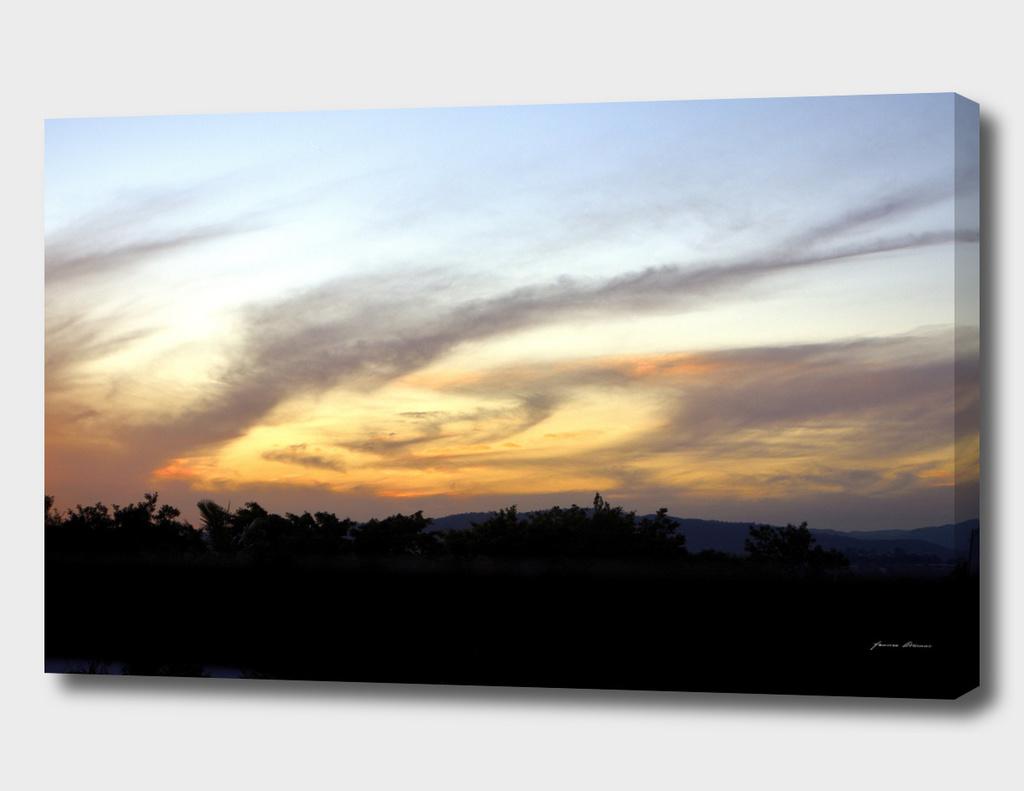 Swirly Sunset