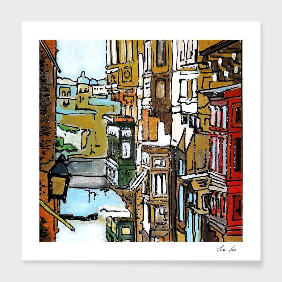 I balconi di La Valletta - Sara Rao