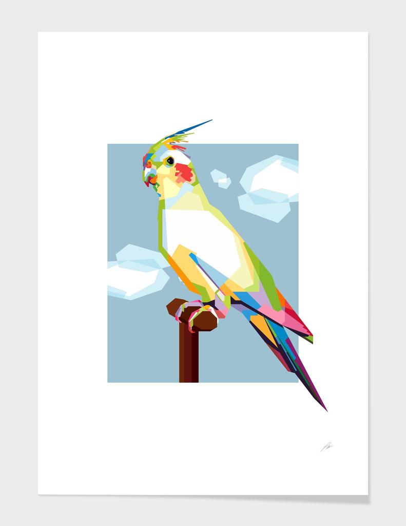 Elegant Cockatiel