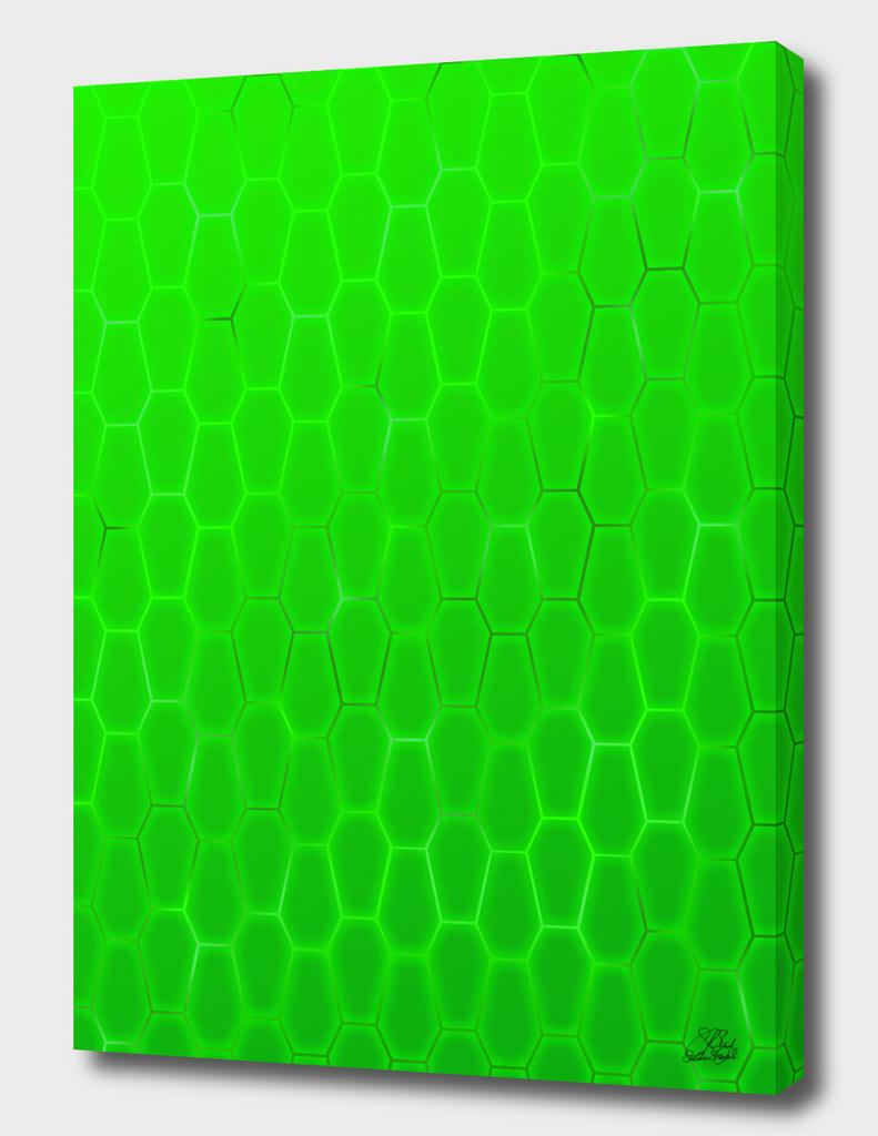 Coffiny Green Hexas