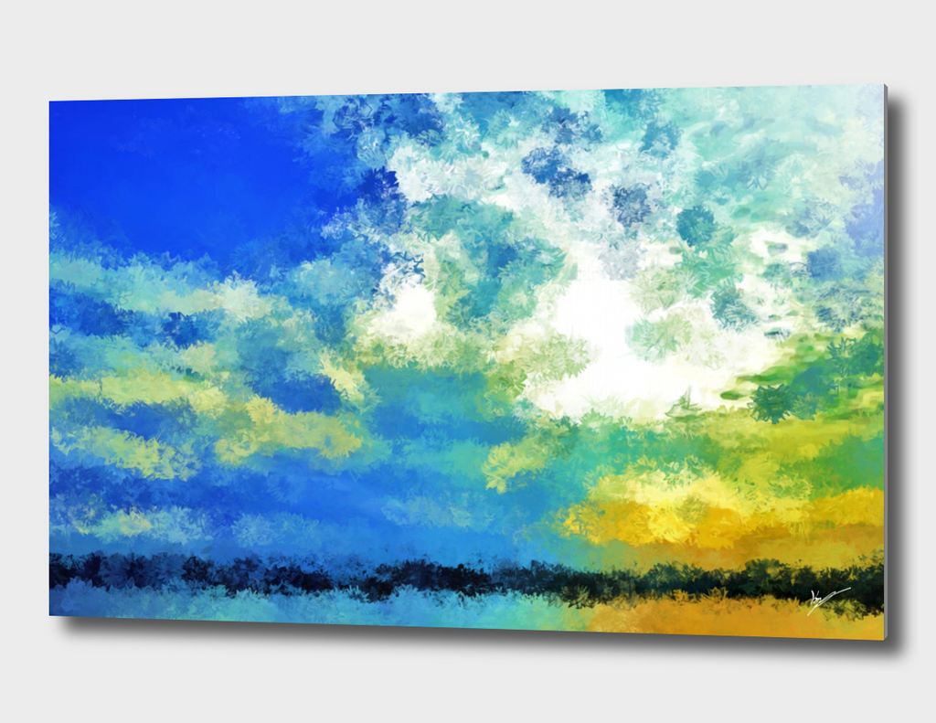 feathered horizon