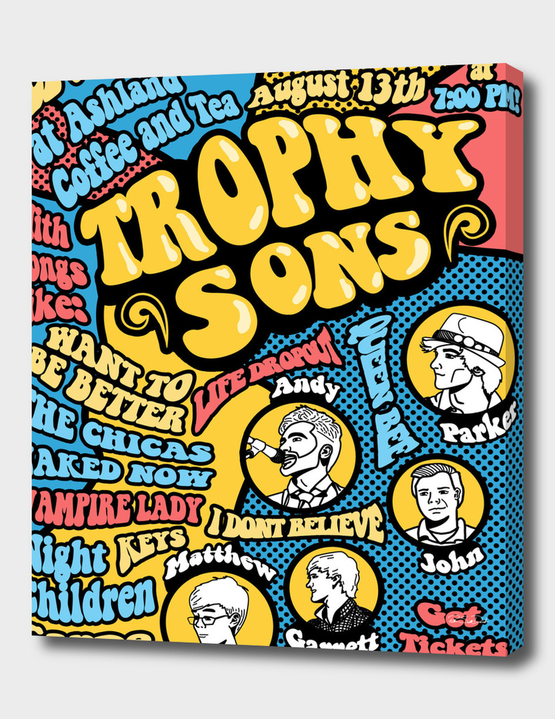 Trophy Sons™ Tour Poster