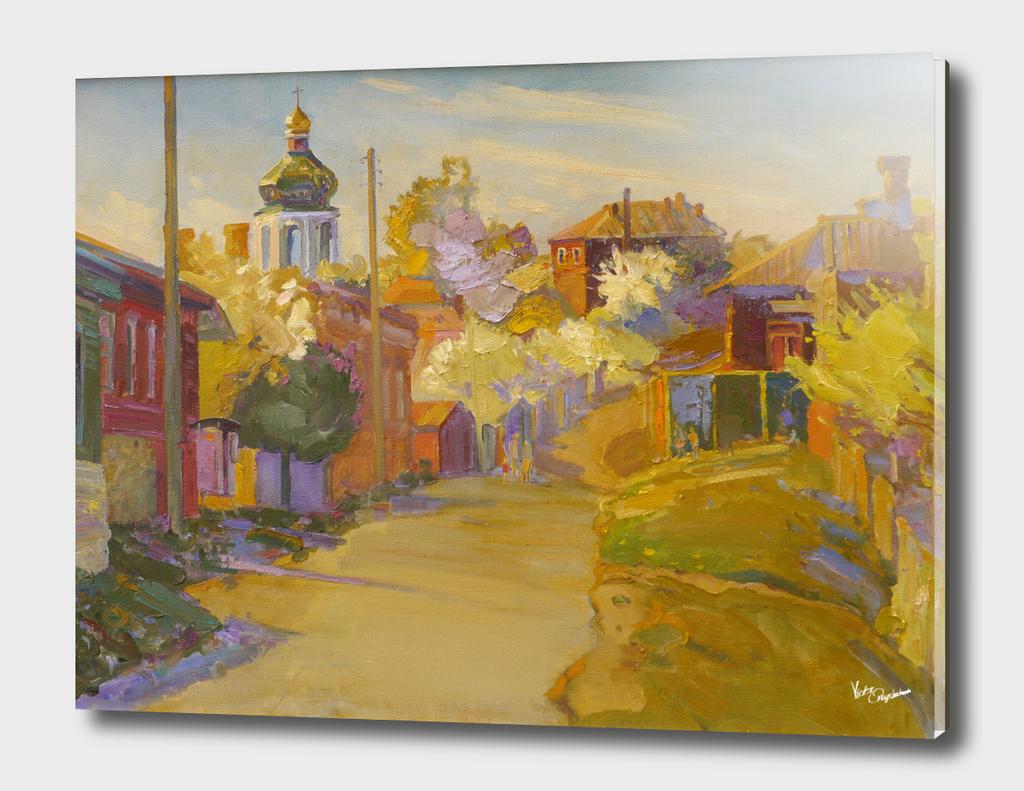 Starostryzhenska street