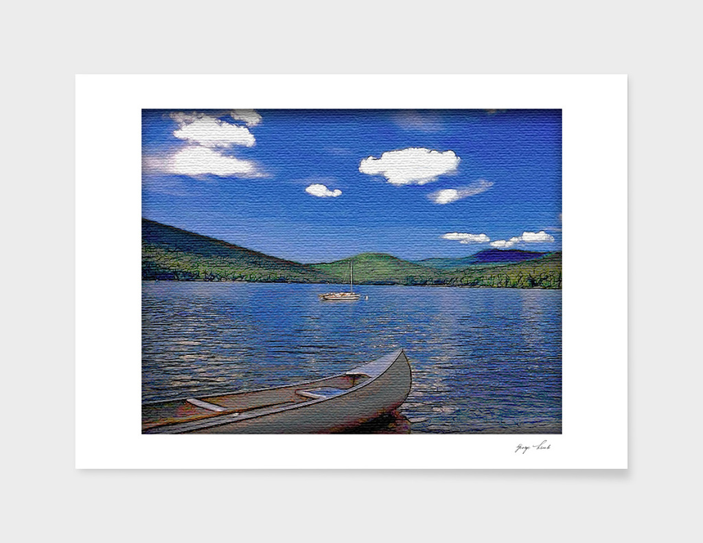 Lake Stinent NH USA
