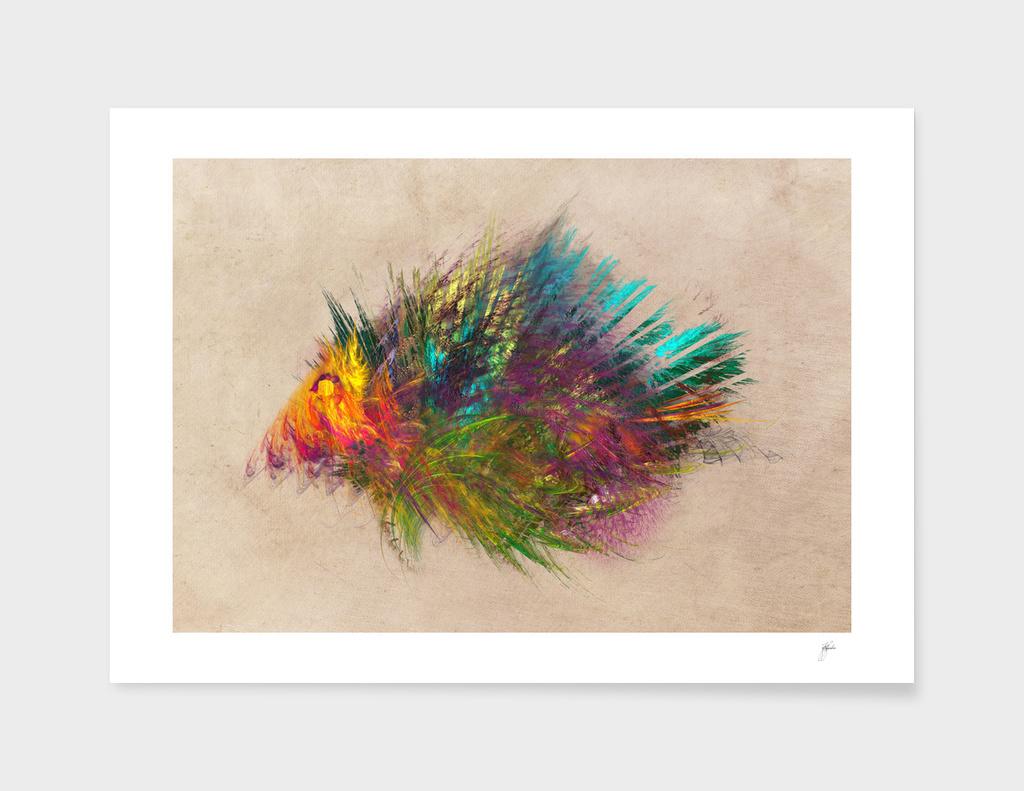 fractal hedgehog