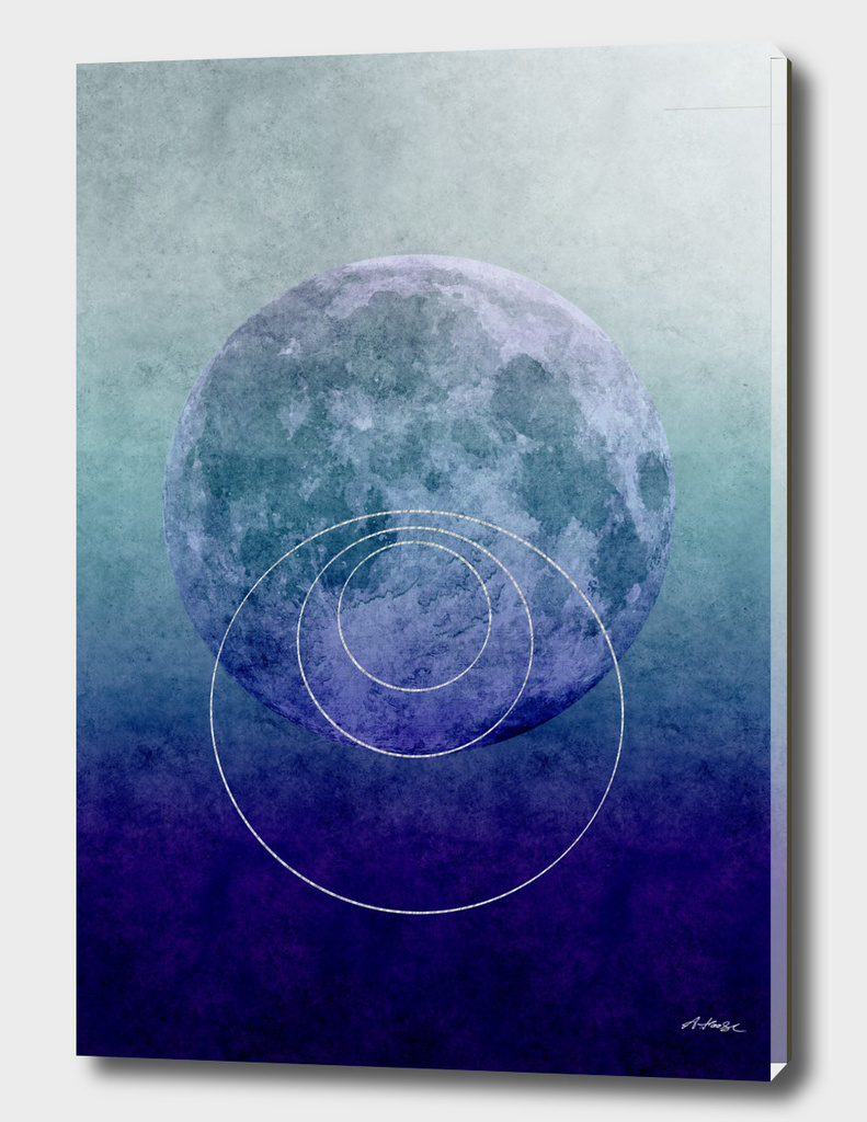 Blue moon circle