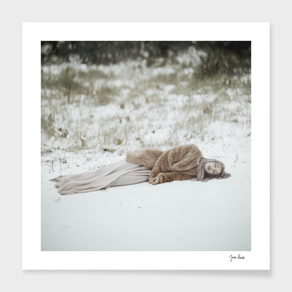 Sleeping in snow