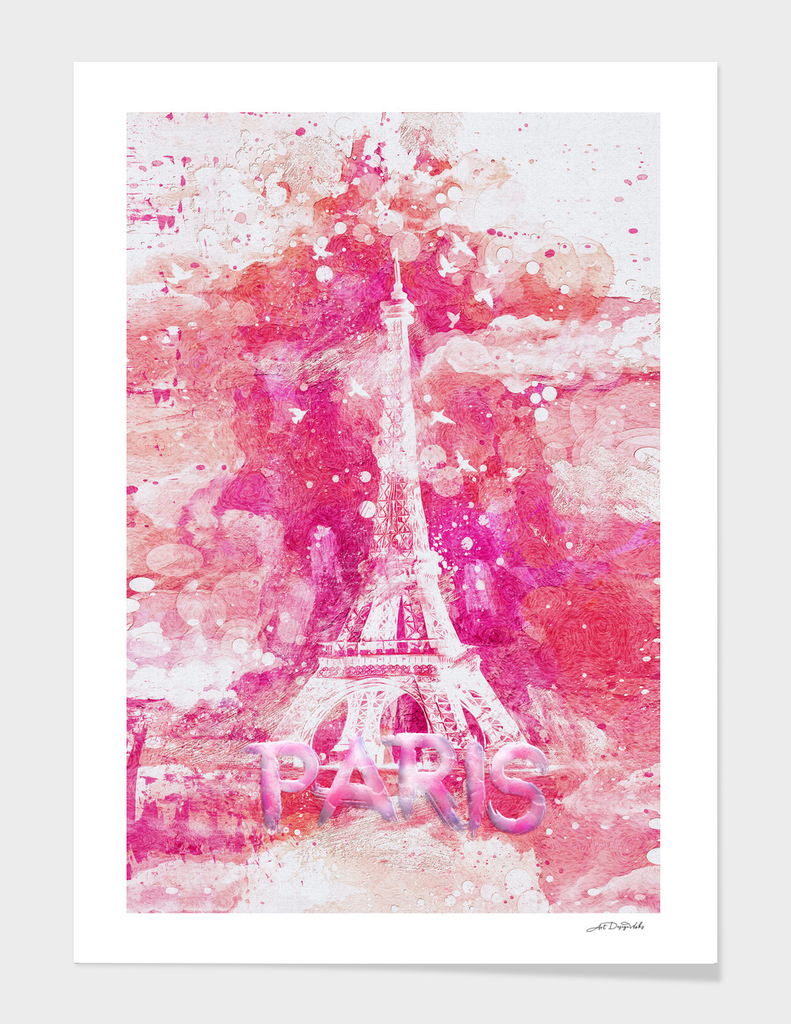 Artistic XLIV - Eiffel tower Paris / LE
