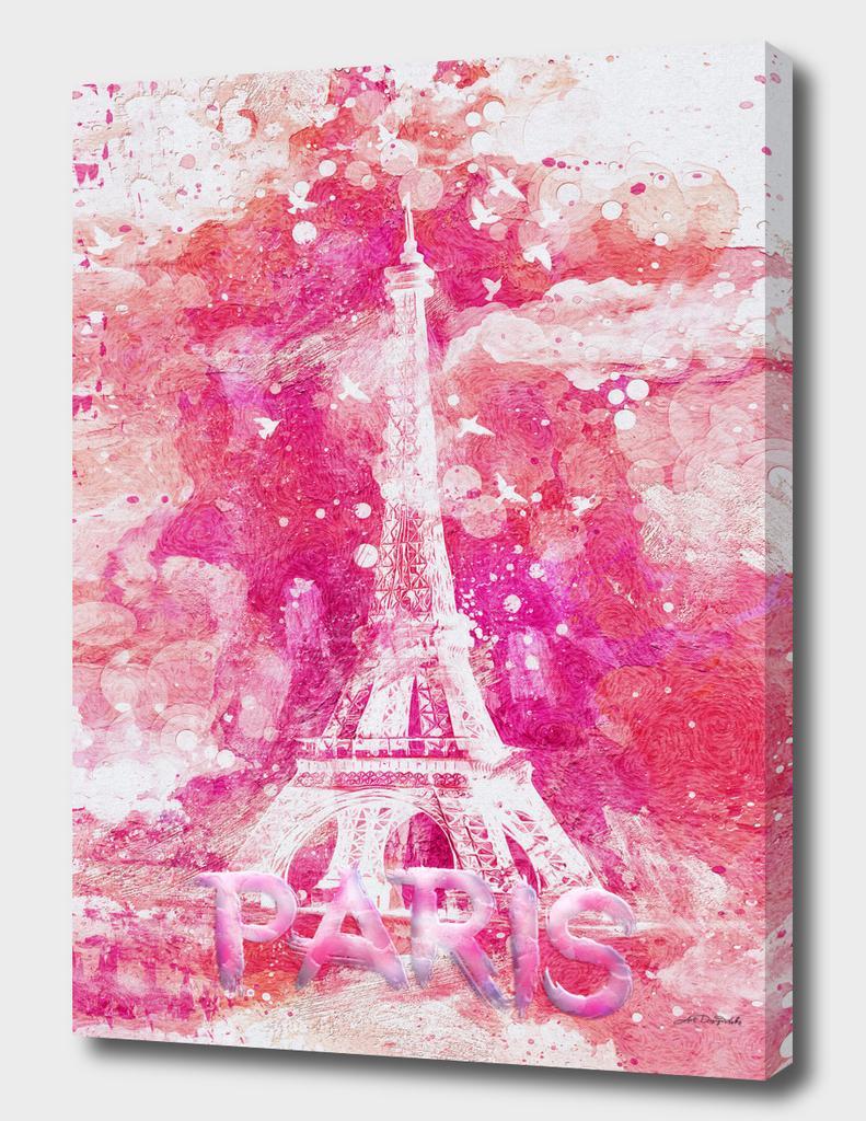 Artistic XLIV - Eiffel tower Paris / LE