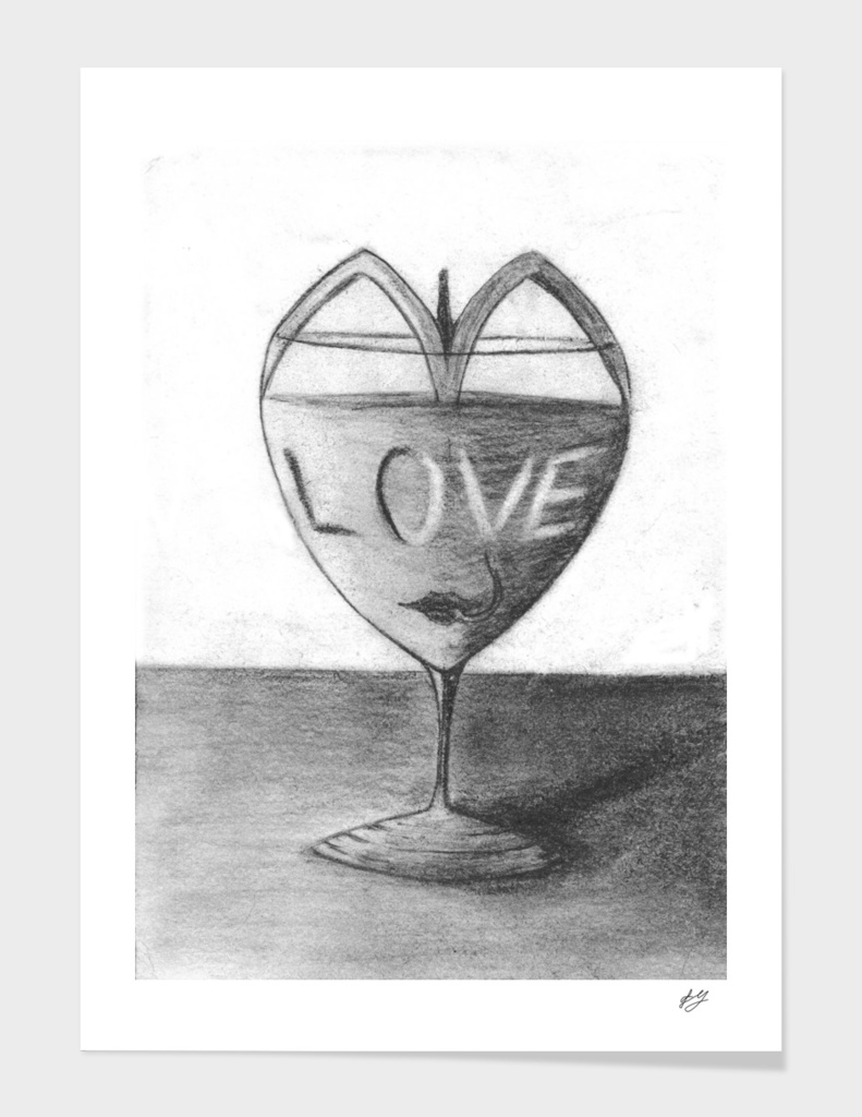 Glass of love
