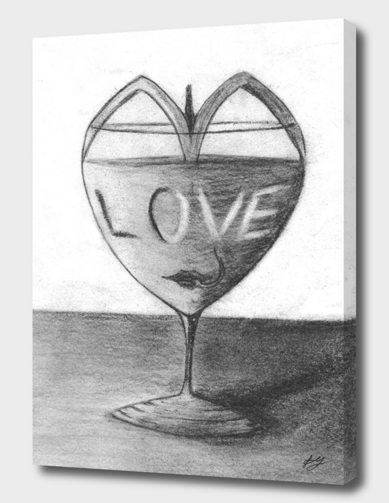 Glass of love