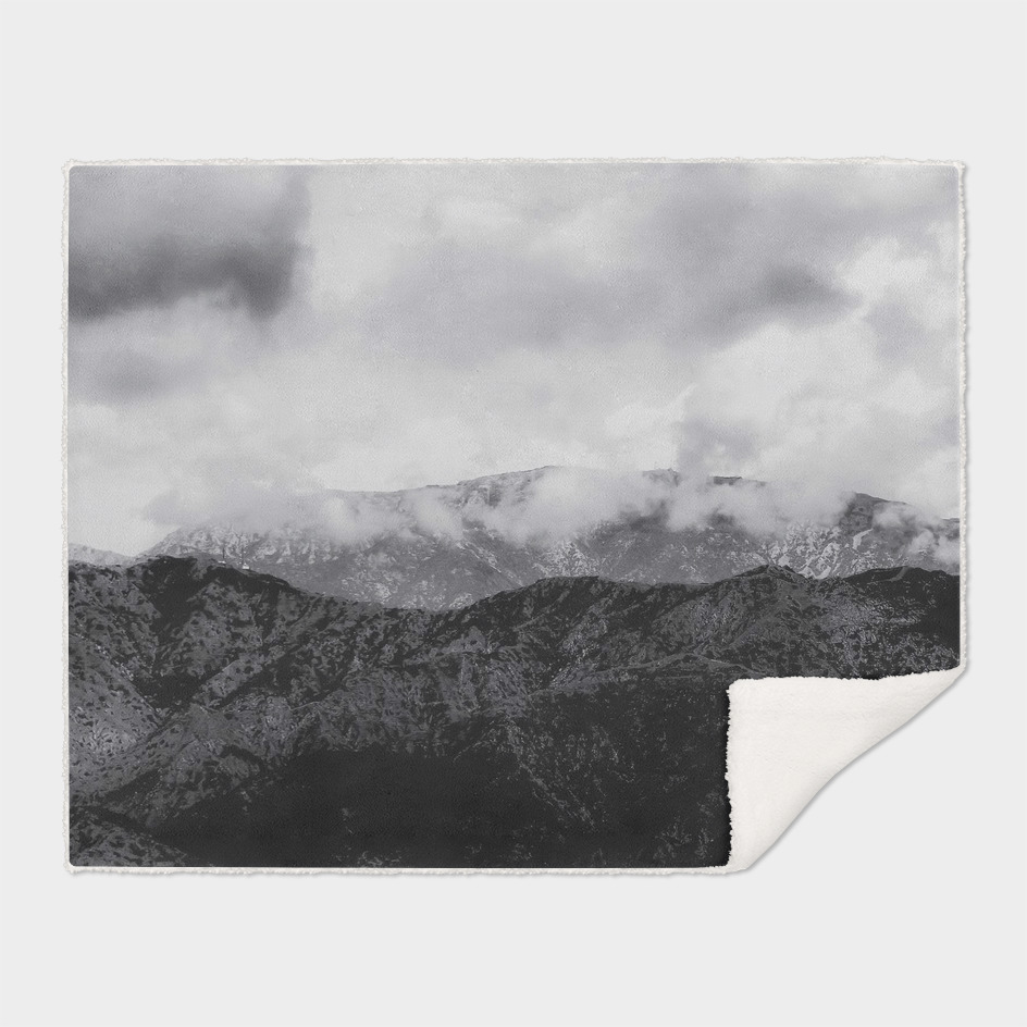 mountain with cloudy sky in Los Angeles