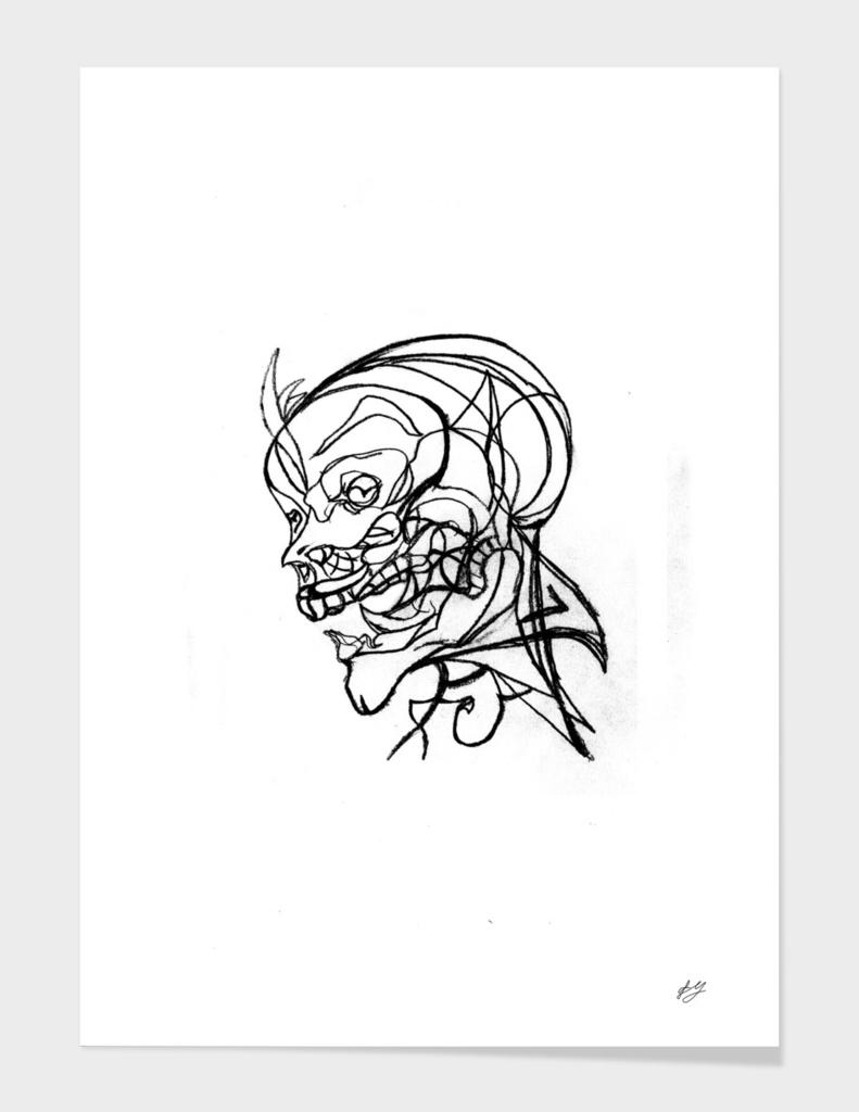 Someone's skull