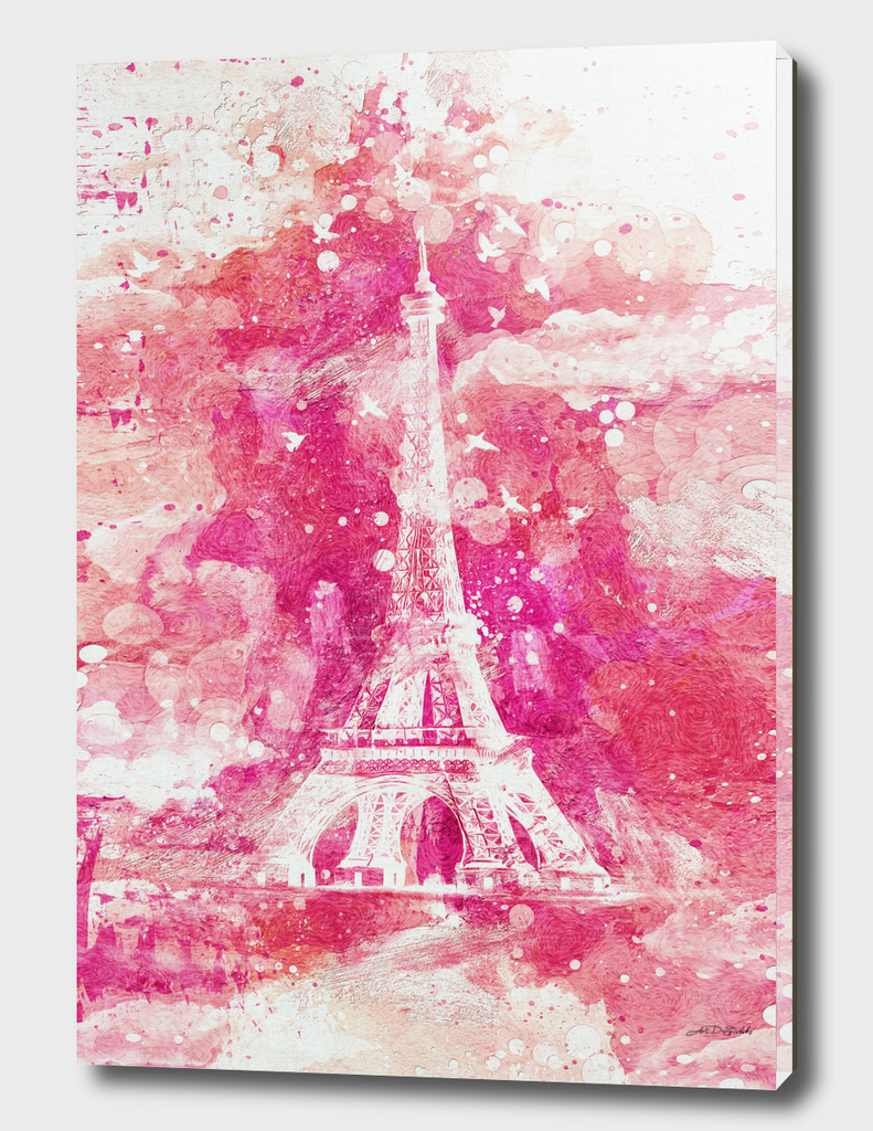 Artistic XLIV - Eiffel tower Paris / NE