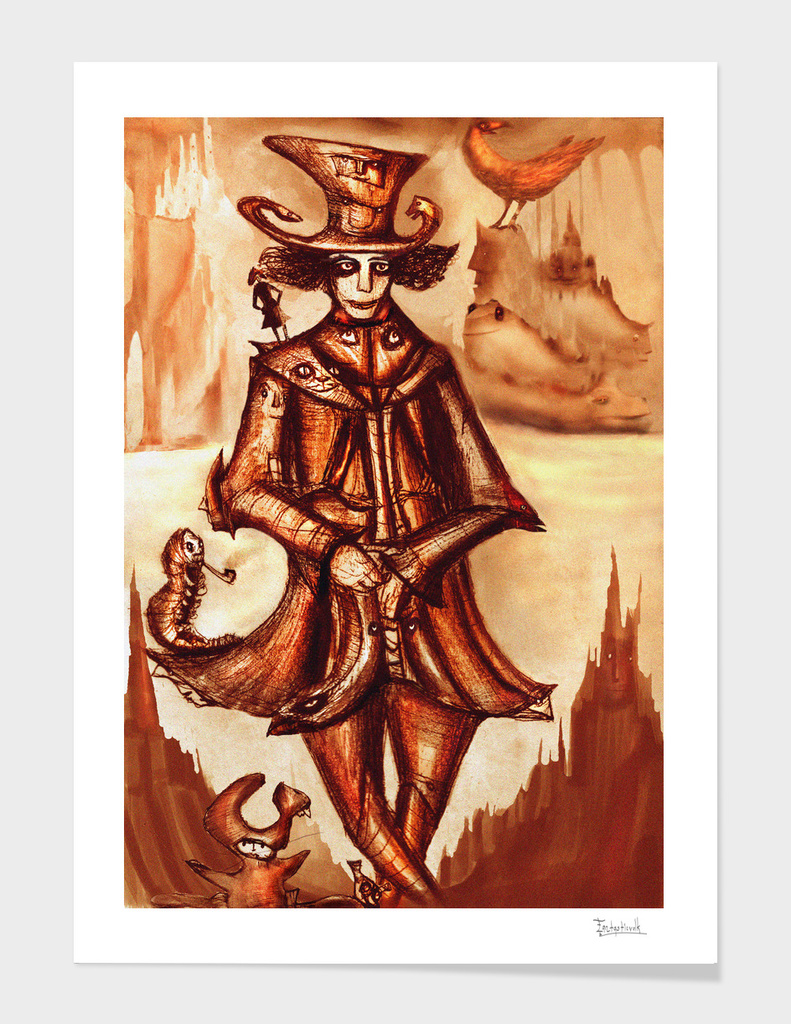 alice's hatter