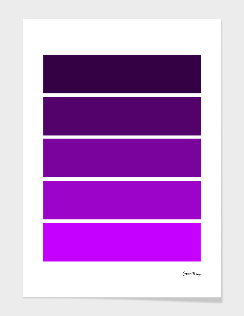 Colour Bars - PURPLE