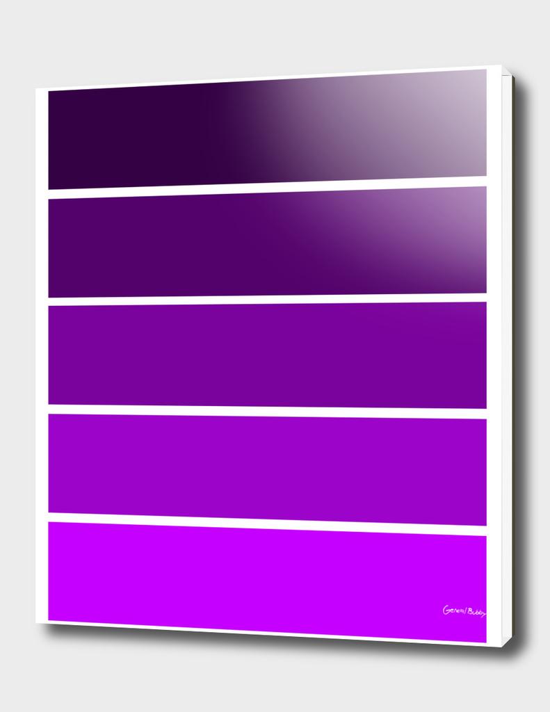 Colour Bars - PURPLE